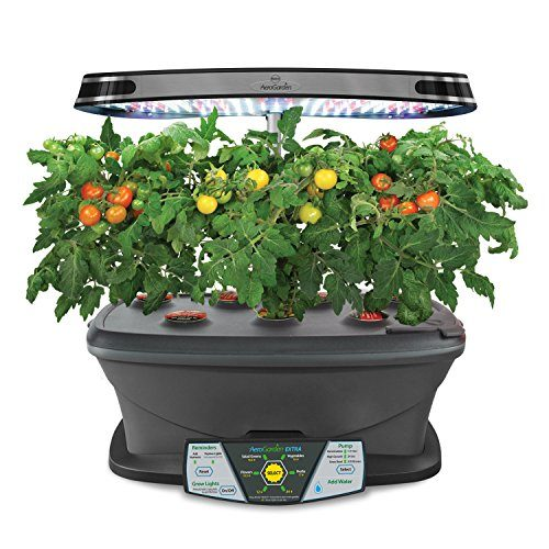 aerogarden extra led with gourmet herb seed pod kit glogro grow light reviews. Black Bedroom Furniture Sets. Home Design Ideas